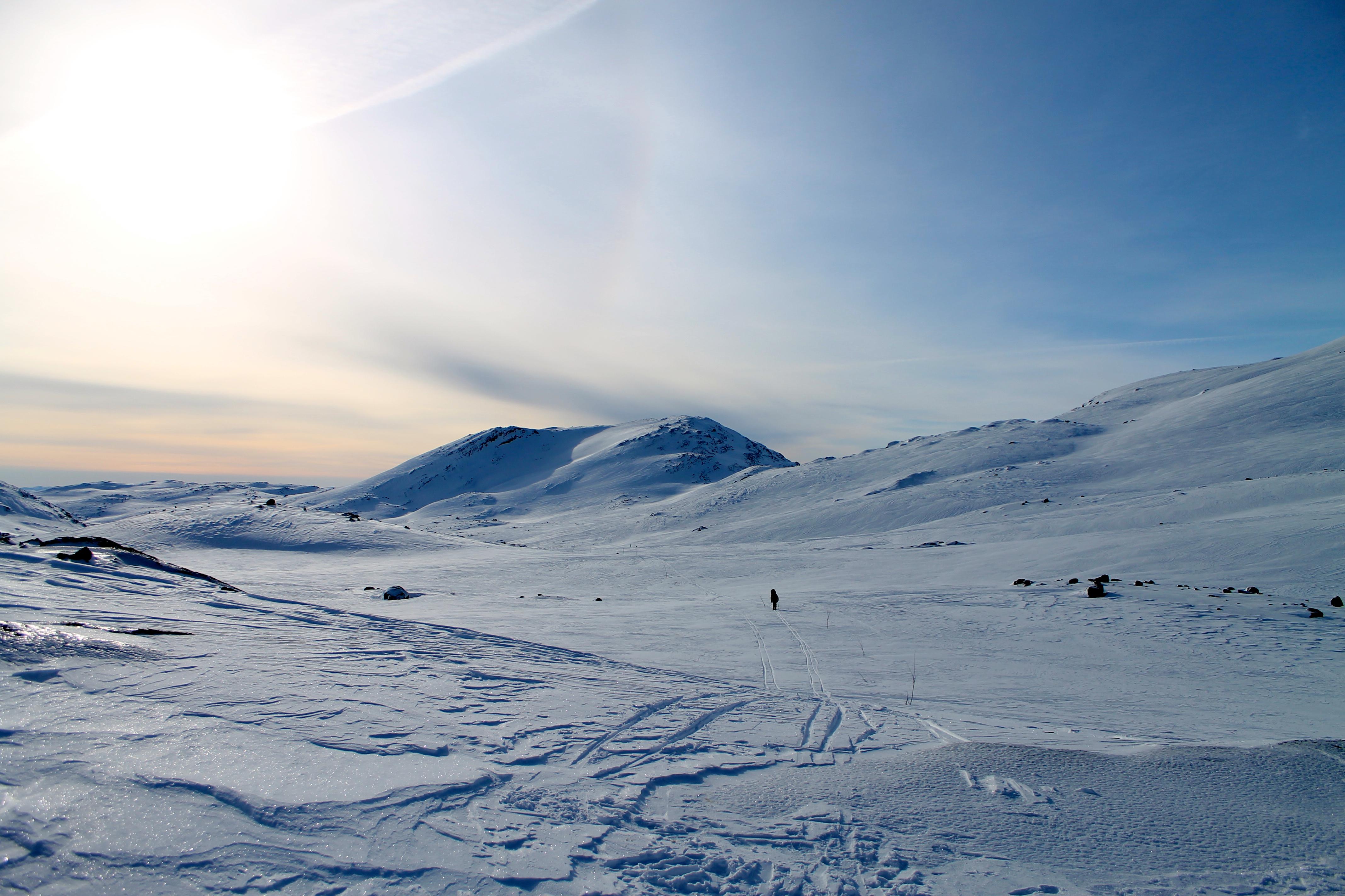Skitur til Olavsbu i Jotunheimen
