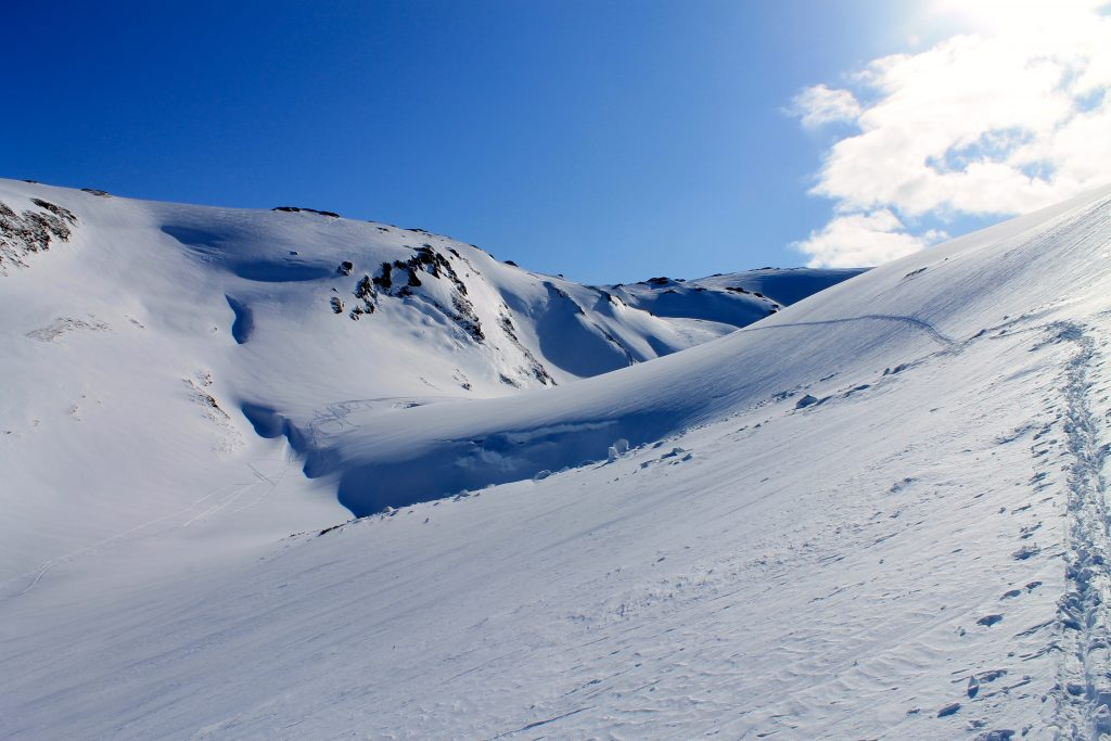 En alternativ rute til Tveitakvitingen er å gå inn i Kjelen og opp til Gråfjell.