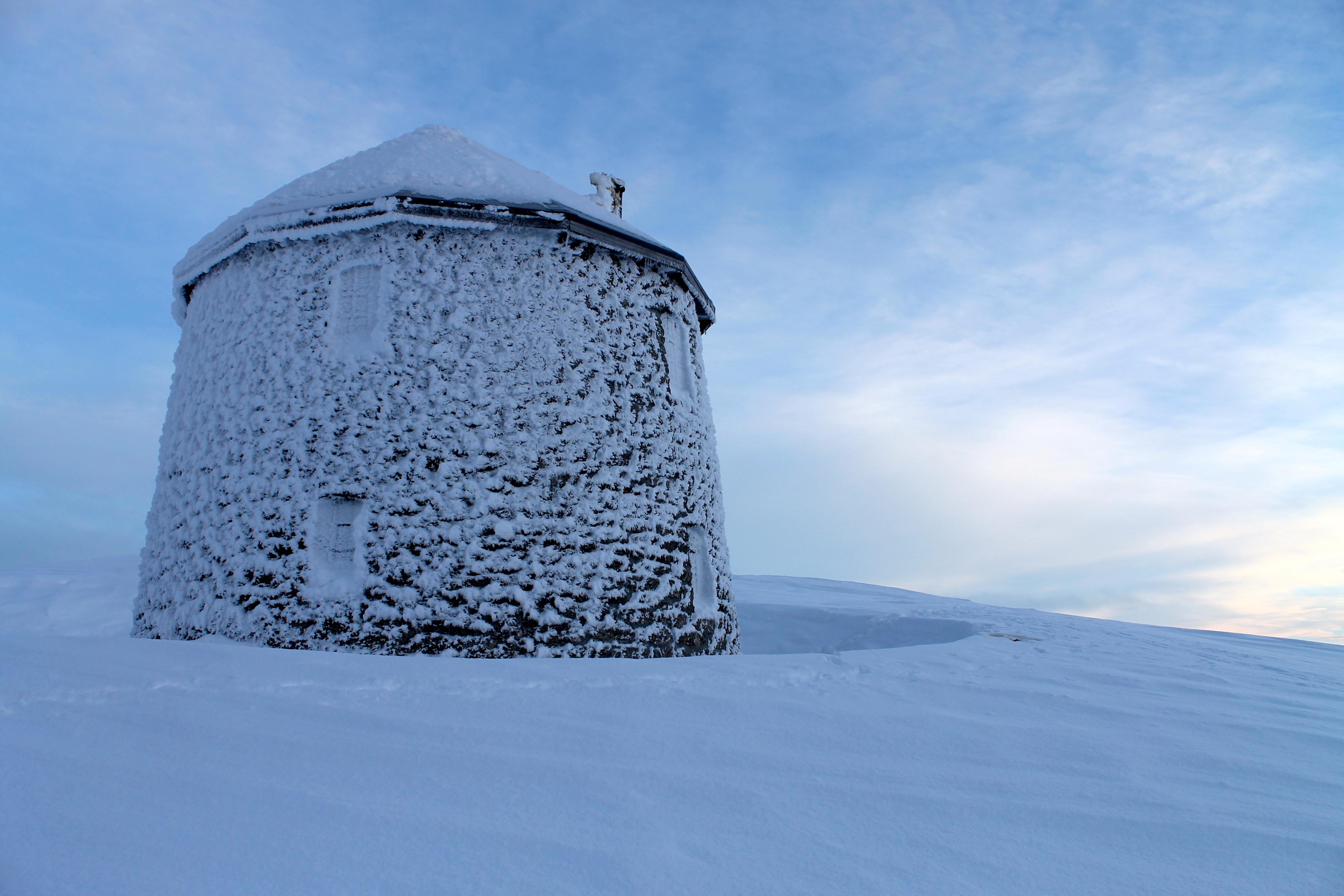 Skålatårnet eller Kloumannstårnet er en av landets mest spektakulære turisthytter!