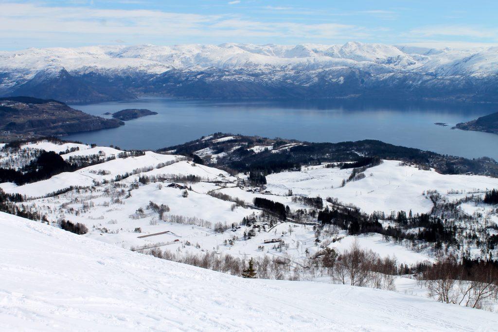 Turen til toppen av Torefjell starter gjerne fra Sjusete.