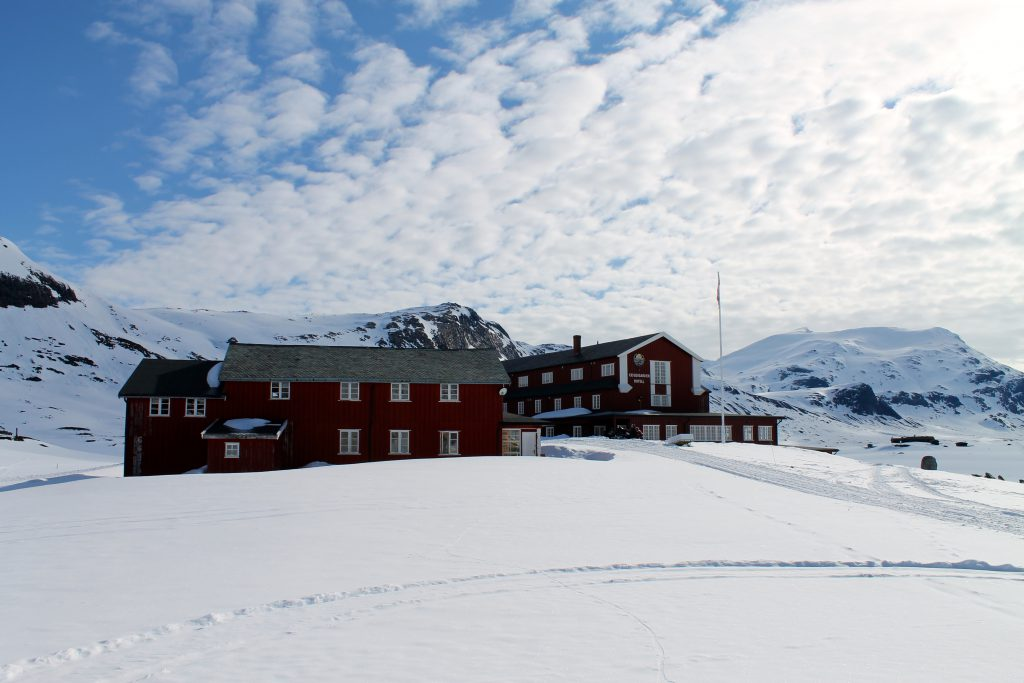 Eidsbugarden hotell i Jotunheimen.