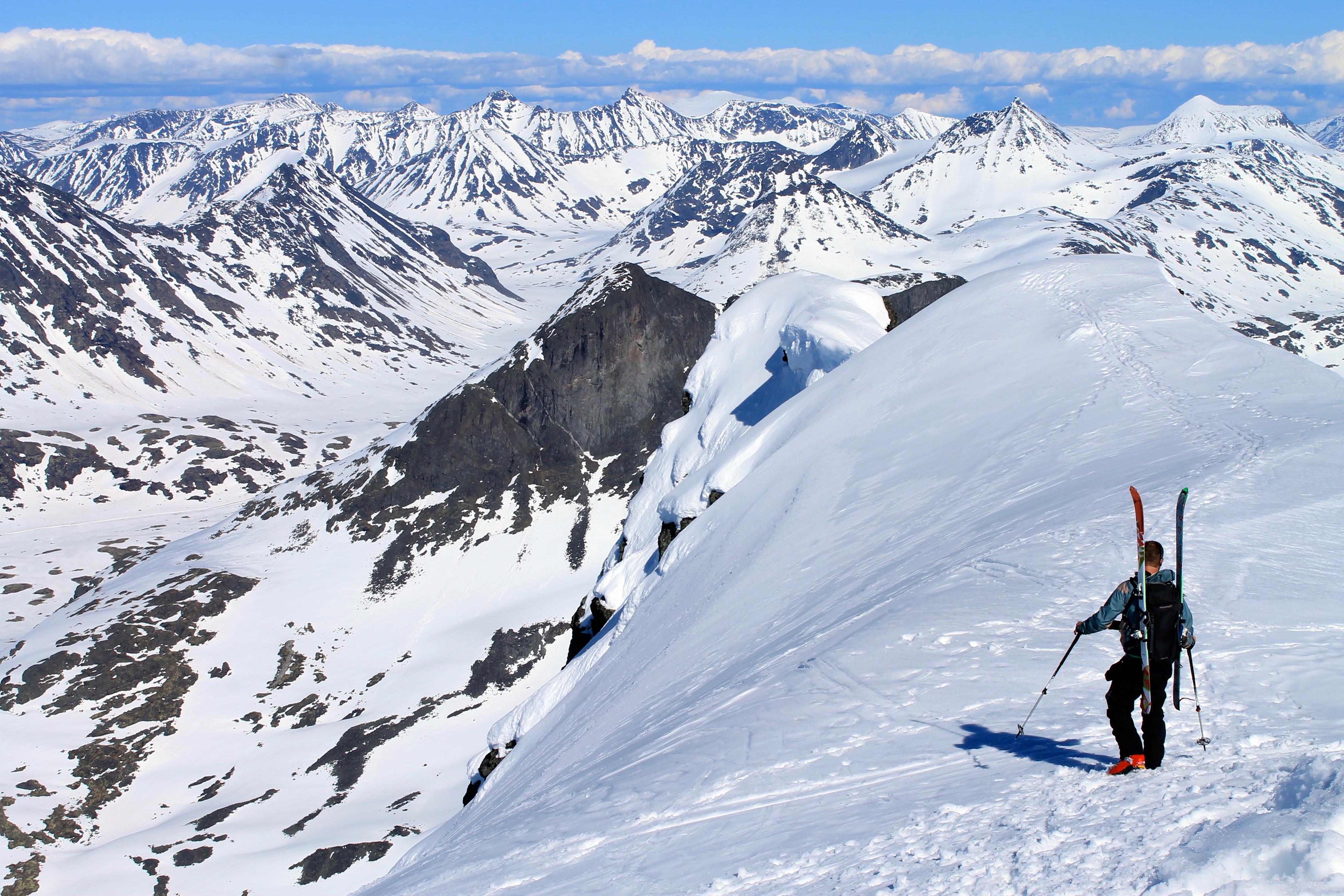 Storebjørn er en flott skitopp.