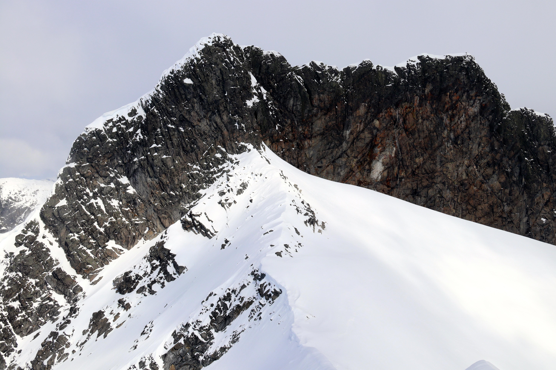 Fjellryggen Skeie (2.118 moh) i Smørstabbtindmassivet.