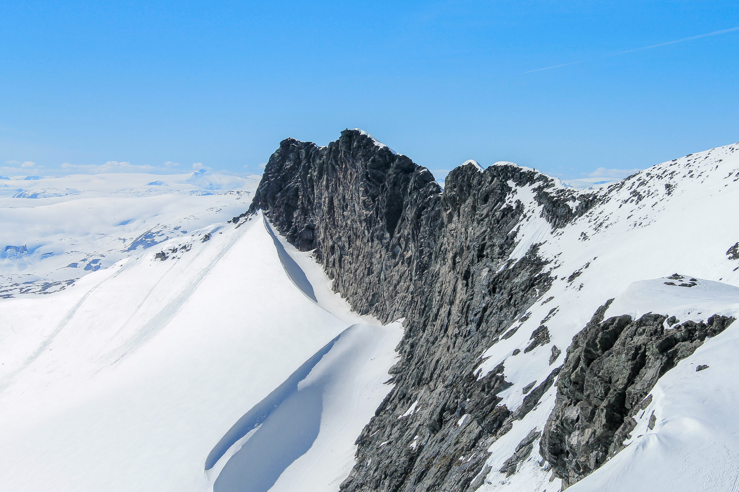 Den flotte fjellryggen til Skeie (2.118 moh)