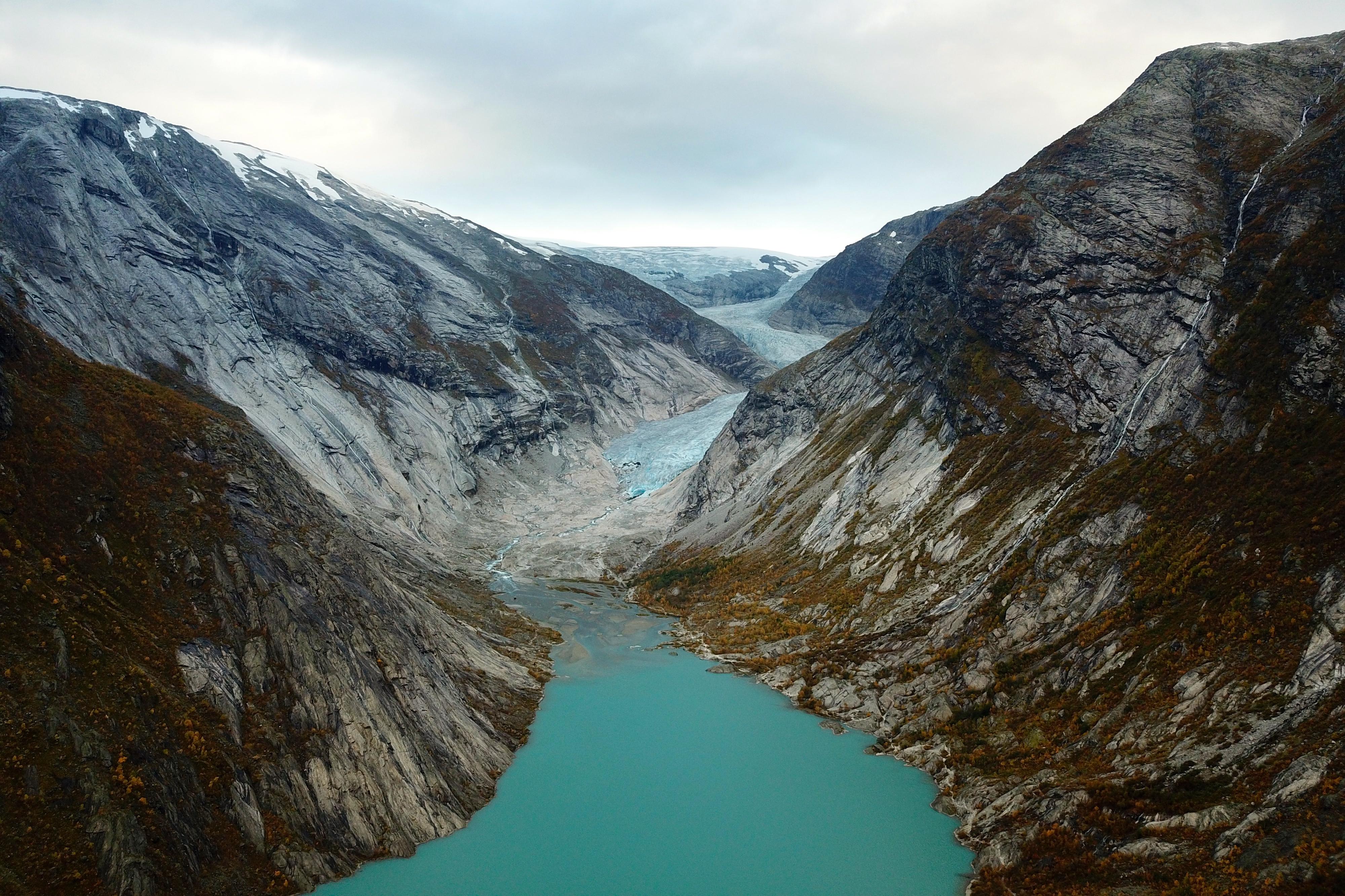 Nigardsbrevatnet og Nigardsbreen.