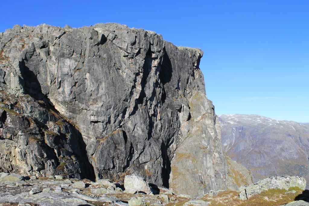 Stupene under Øktarnuten i Eidfjord.