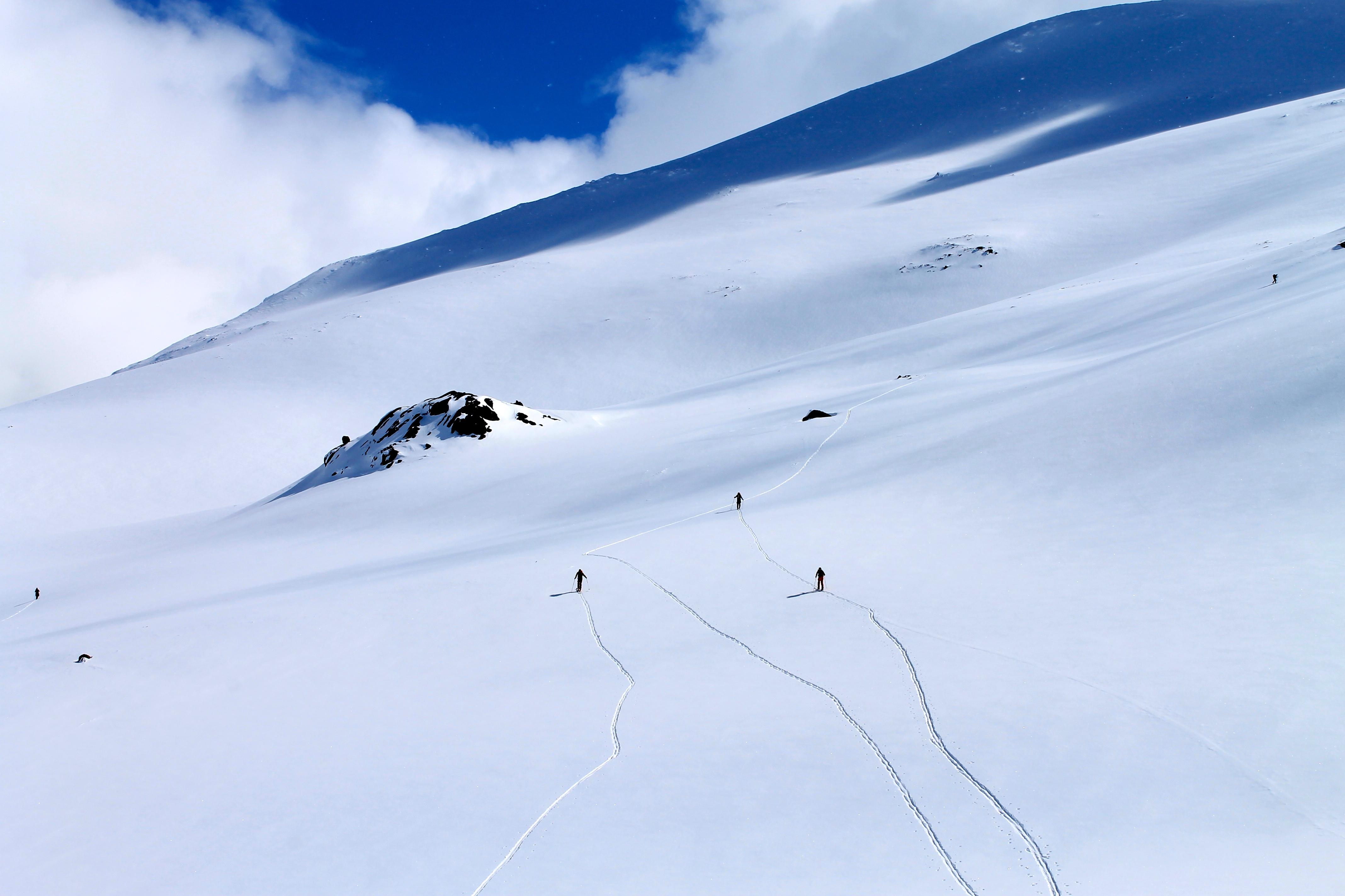 Oppstigning til Galdeberget 2.075 moh.