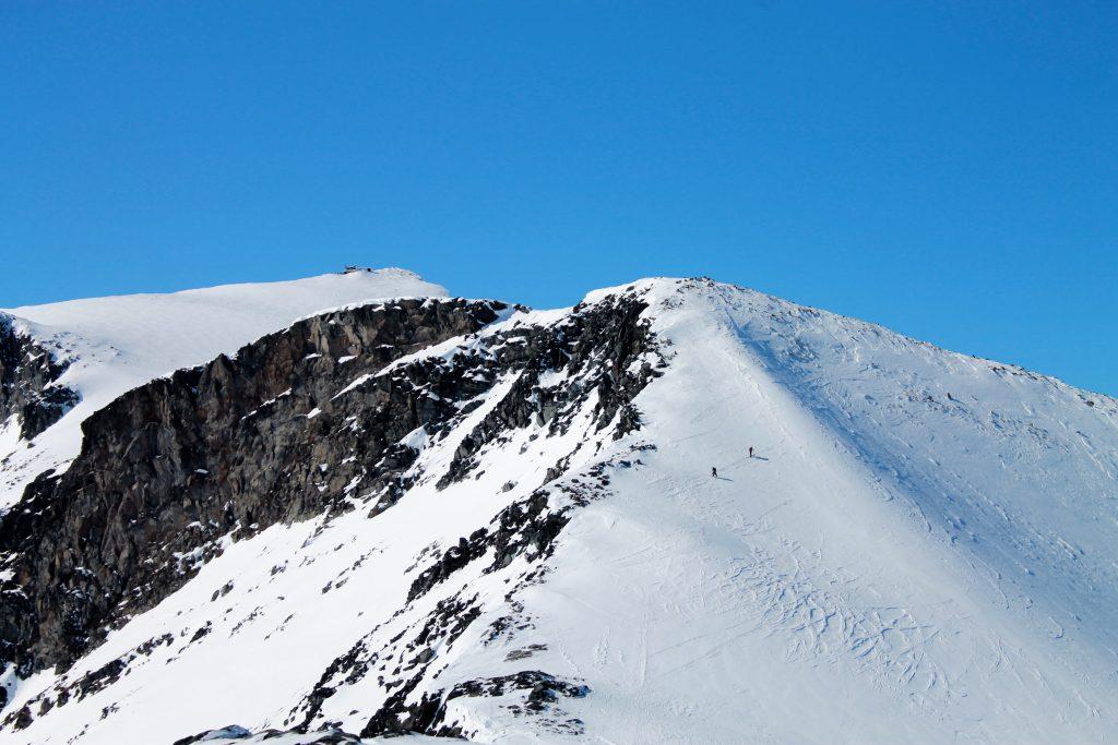 Oppstigning til Keilhaus topp (2.355 moh).