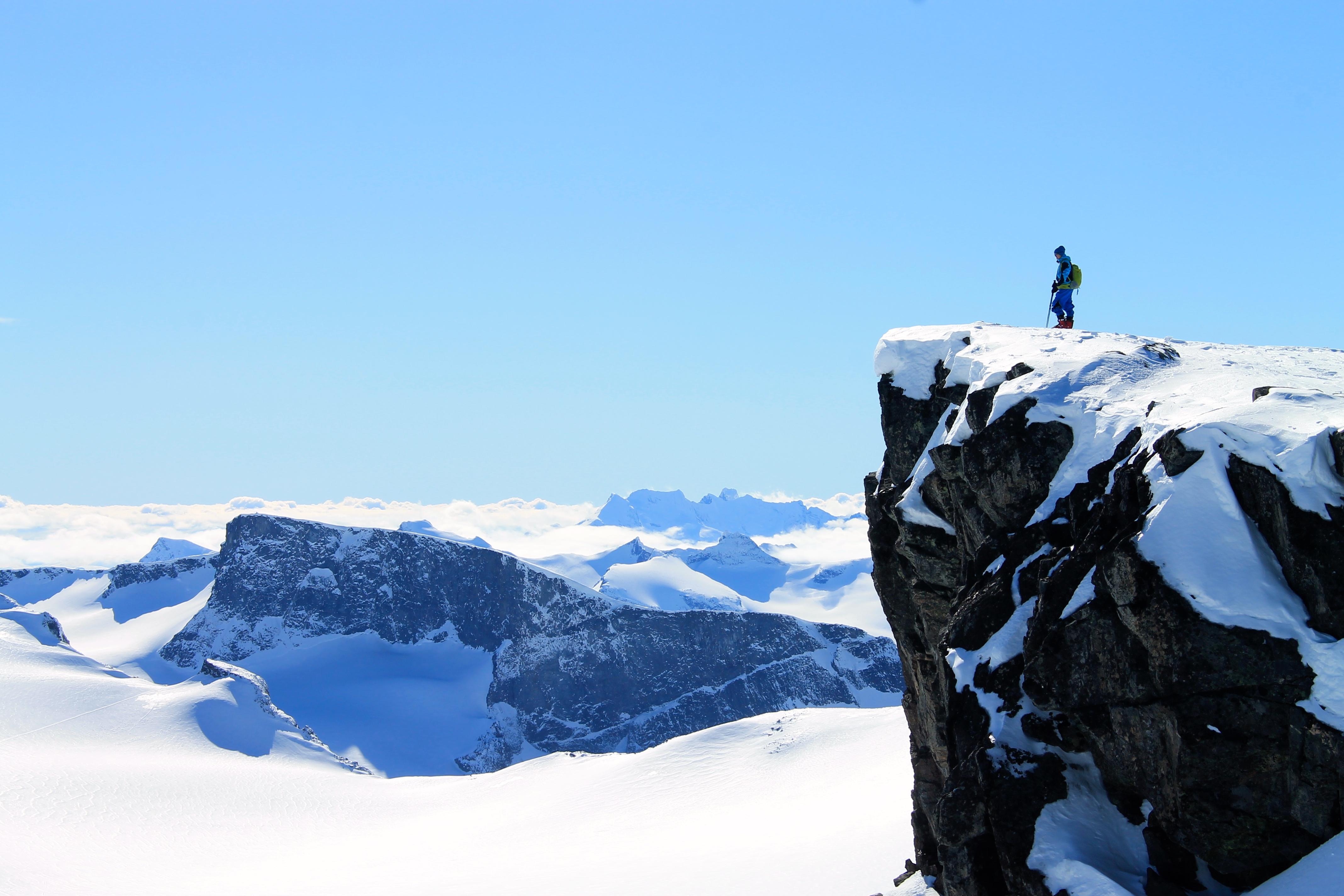 Utsikten fra Keilhaustopp er formidabel. Foto: Jørn Eriksson.