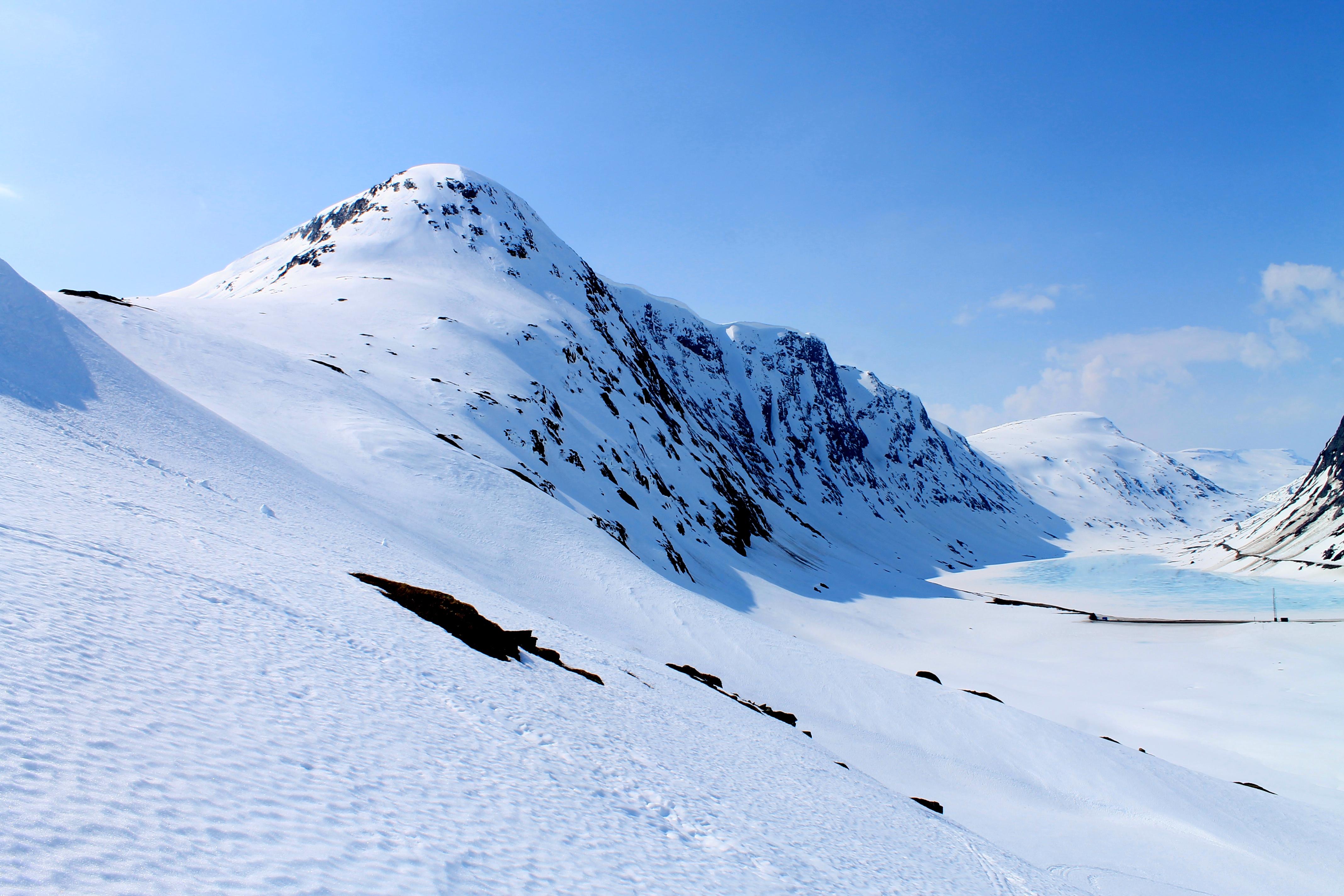 Oppljosegga (1.540 moh) på Strynefjellet