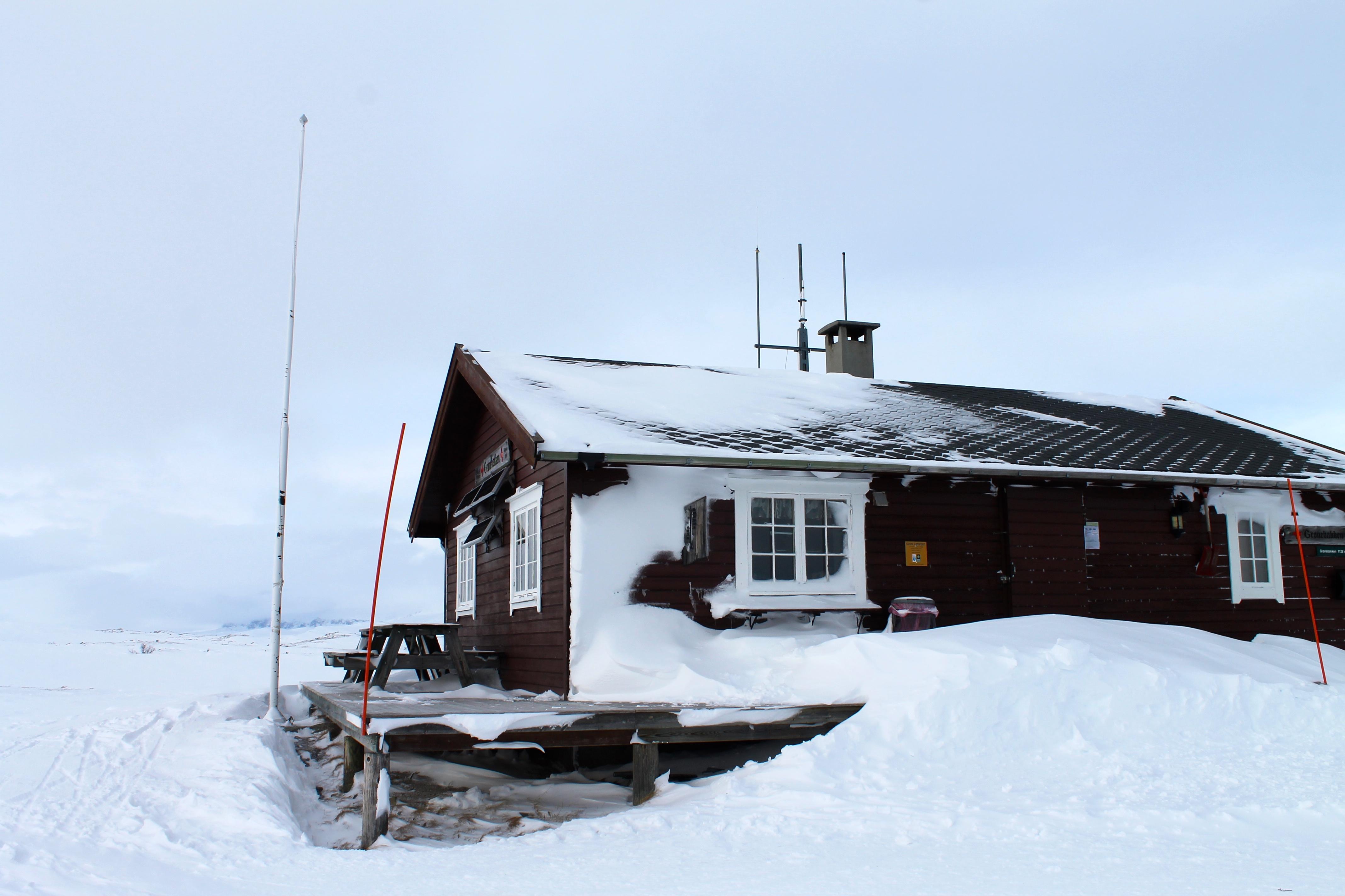 Røde Kors-hytten Grønebakken.