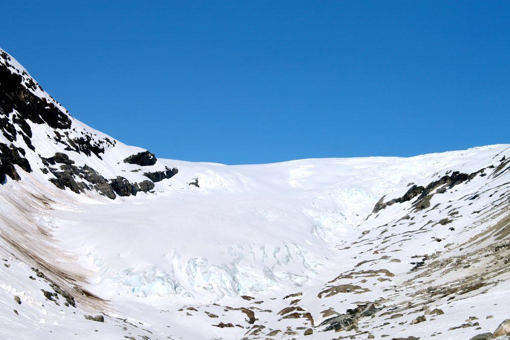Fåbergstølsbreen er en av Jostedalsbreens mange brearmer.