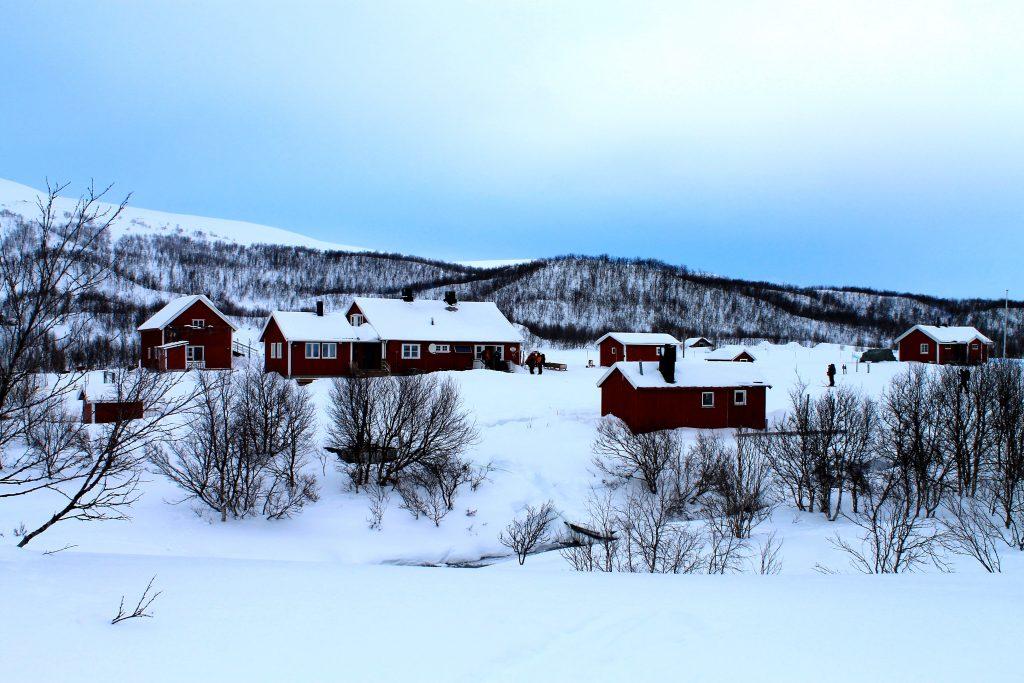 Jotka Fjellstue er den første overnattingen på turen over Finnmarksvidda.