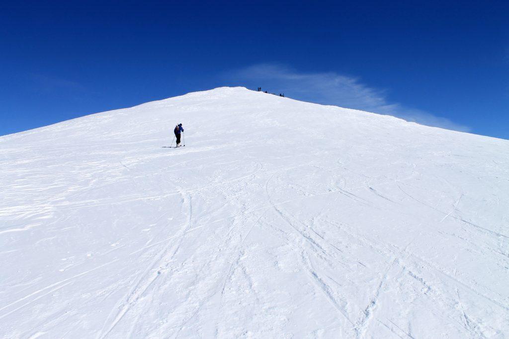Toppen av Steindalsnosi (2.025 moh) på Sognefjellet.