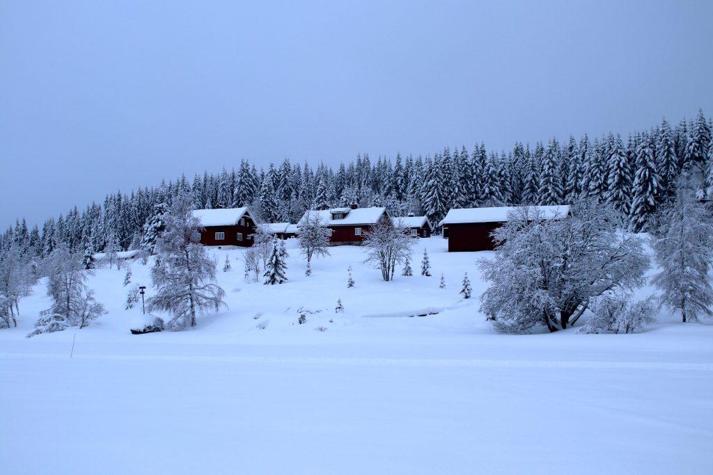 Katnosa gård midt i Nordmarka ved et av Nordmarka´s største vann - Katnosa.