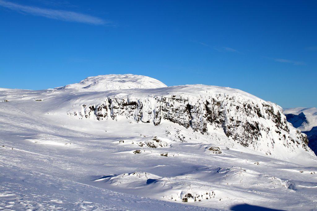 Bleienuten innerst i Flåmsdalen i Aurland.