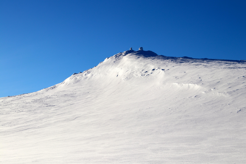 Toppen av Blåbergi i Skarvheimen.