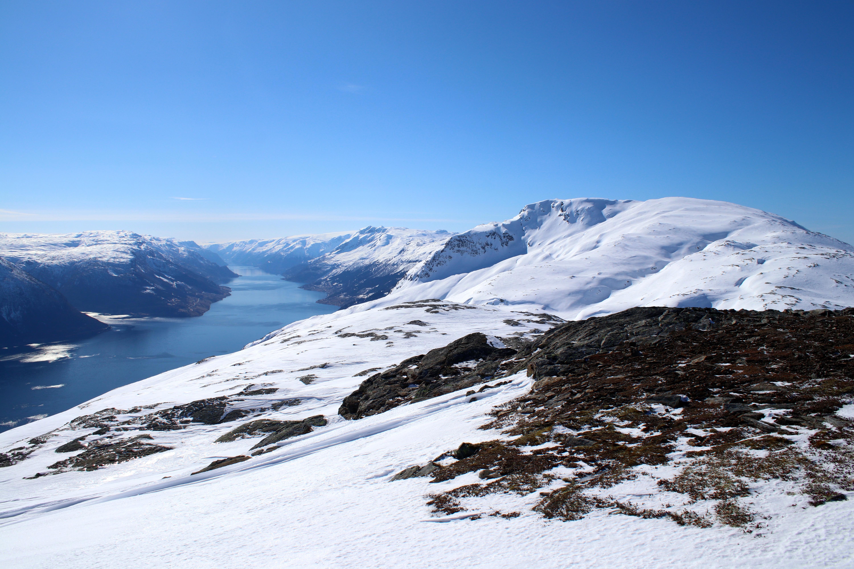 Oksen i Hardanger med Sørfjorden bak.