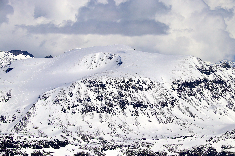 Bukkehøe (2.314 moh) sett fra Smørstabbtindan.