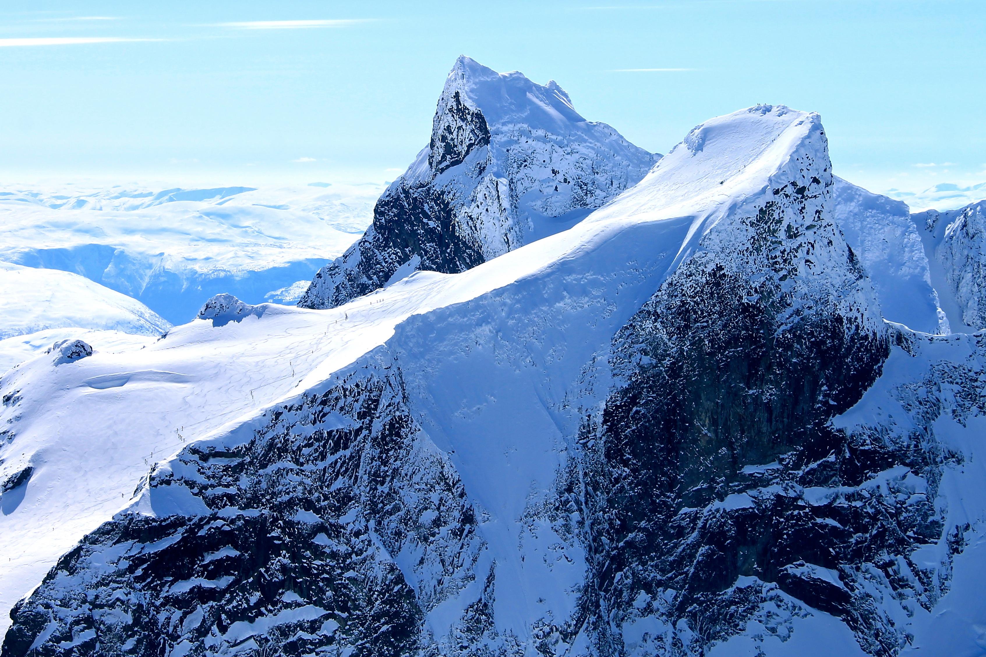 Store Ringstind i Hurrungane er regnet som den mest spektakulære toppturen i området.
