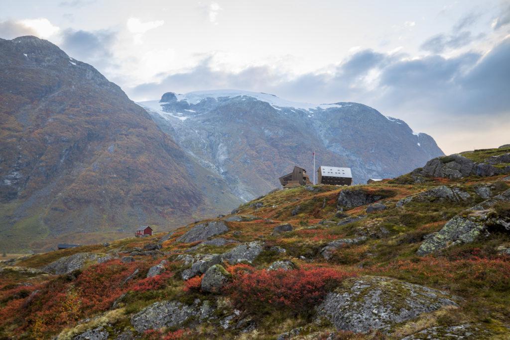 Tungestølen turisthytte er beste utgangspunkt for turer inn i Austerdalen.
