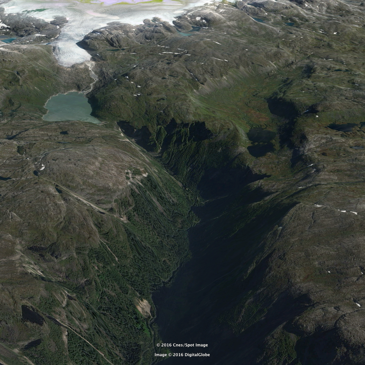 Google Earth Simadalen