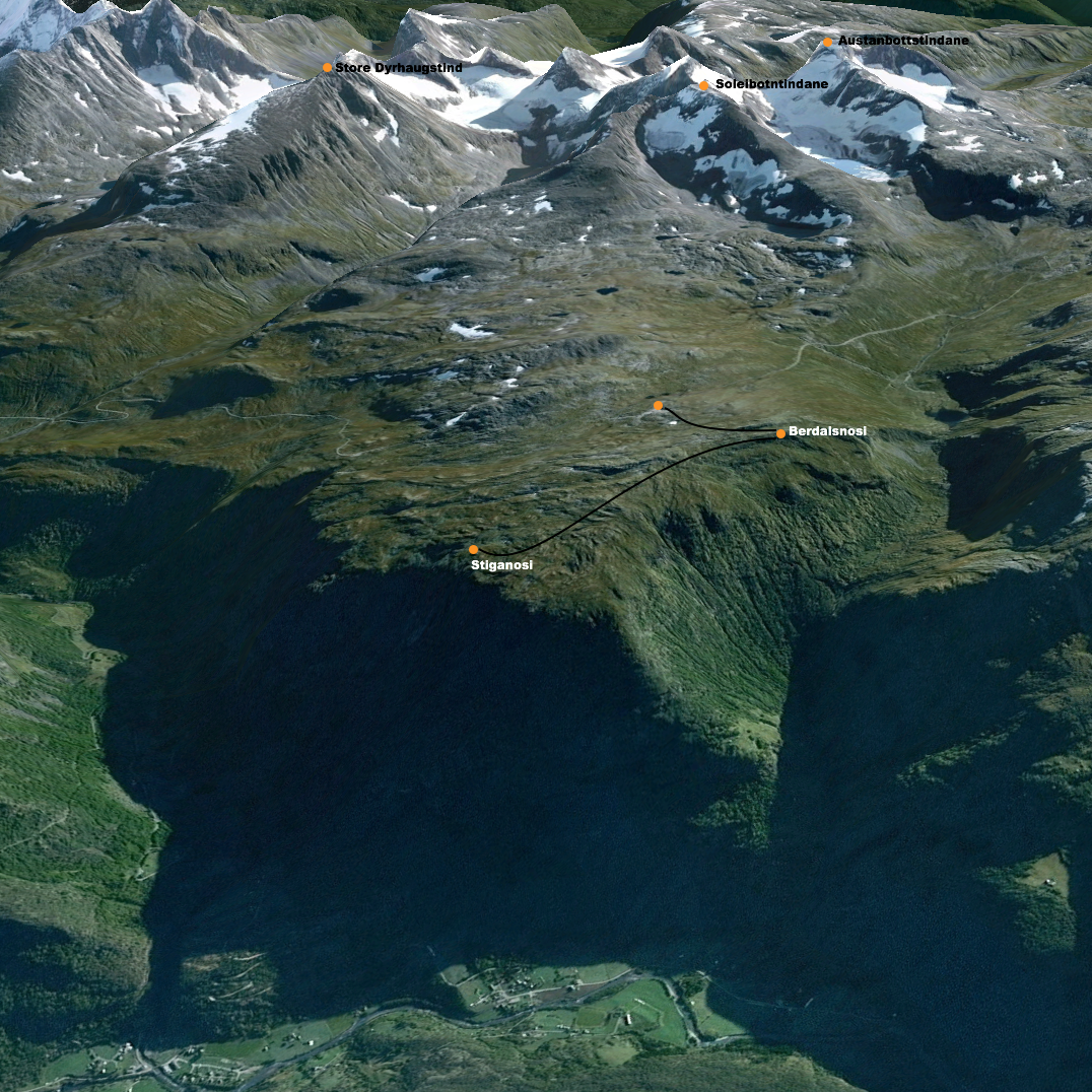Google Earth Berdalsnosi