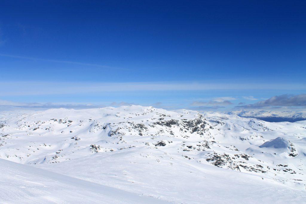 Utsikt mot Fuglafjellet.