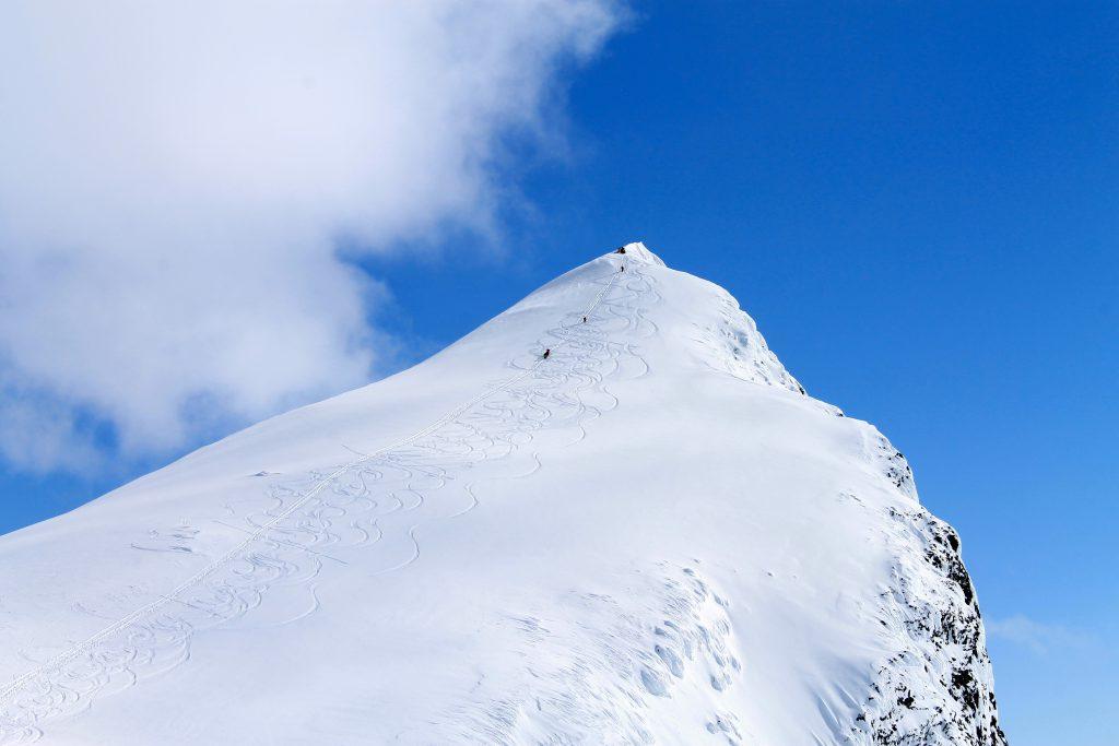 Toppen av Uranostinden.