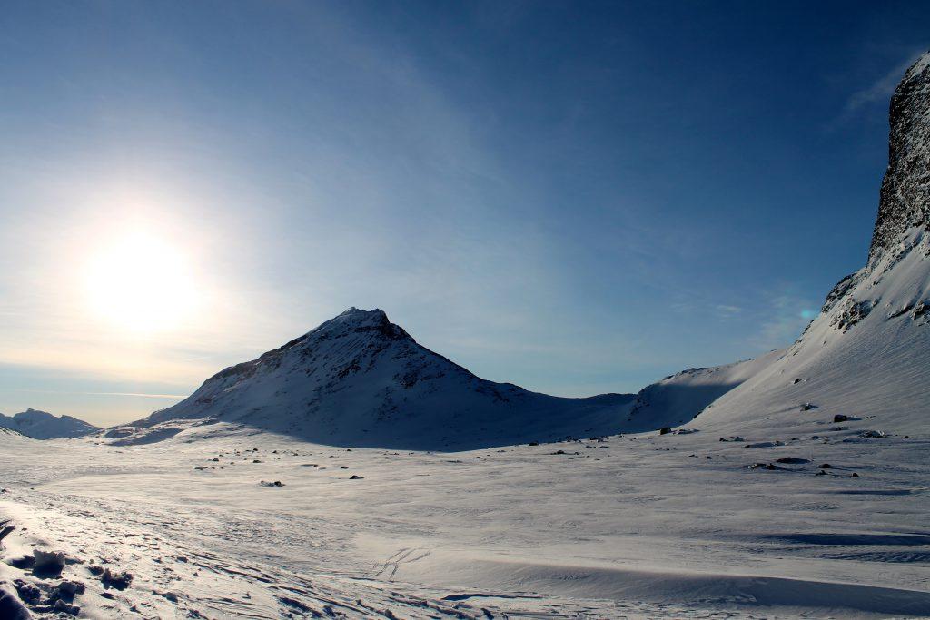 Utsikt fra Olavsbu.