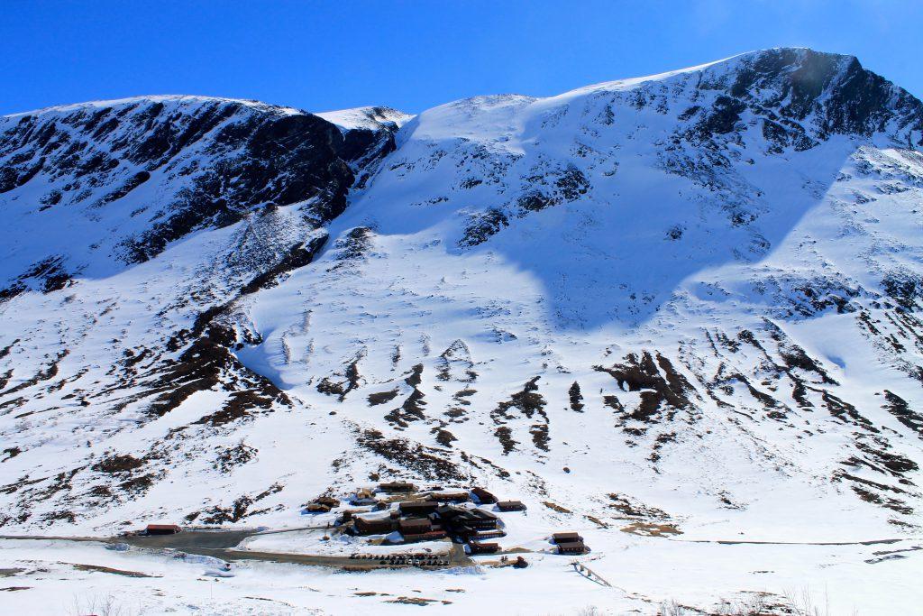 Spiterstulen er det beste utgangspunktet for topptur til Galdhøpiggen.