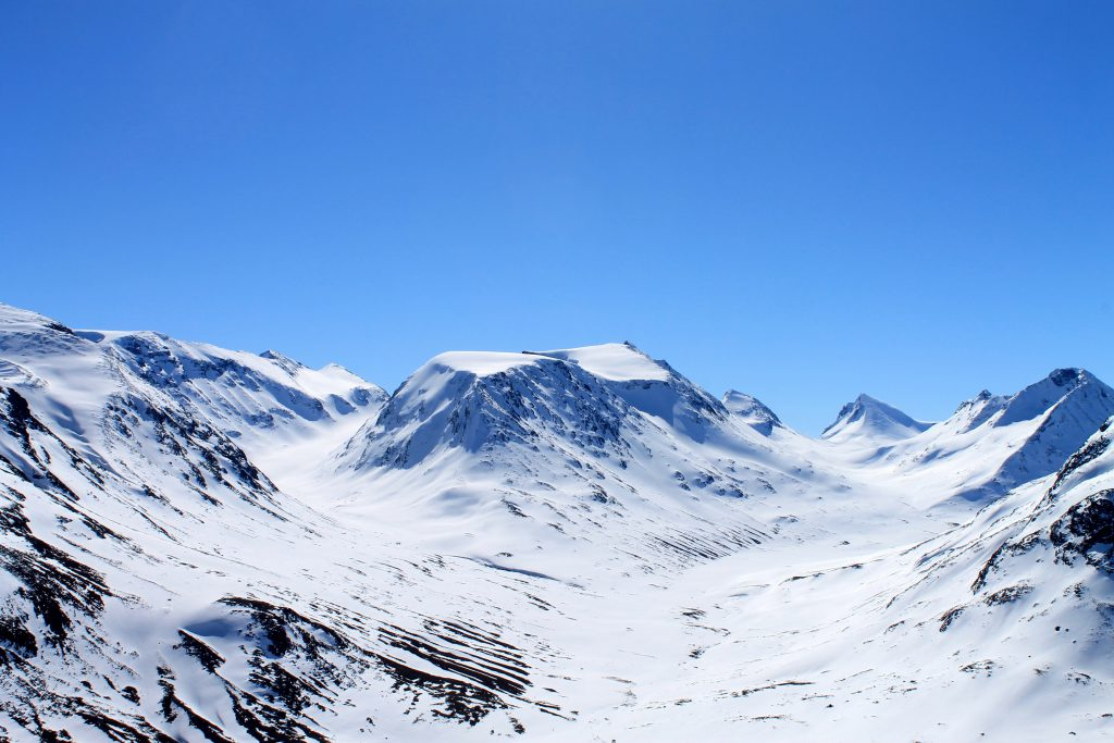 Vakre Visdalen med Hellstuguhøe i midten