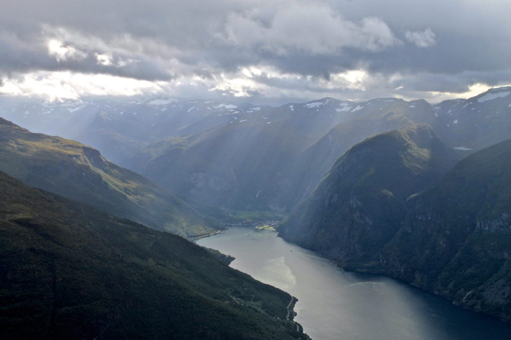 Innerst i Aurlandsfjorden ligger Flåm.