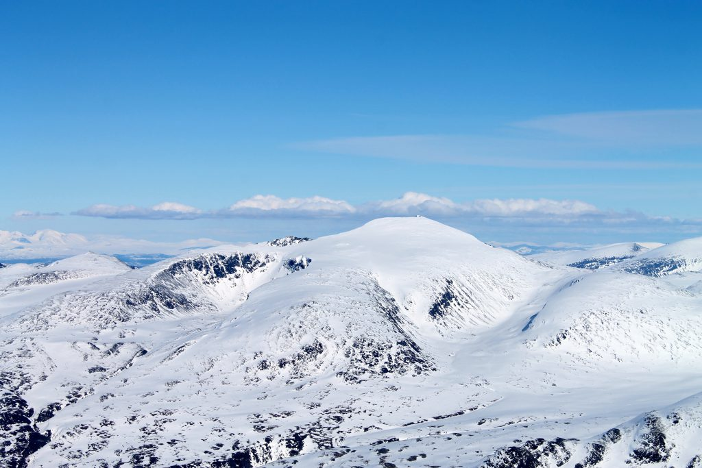 Snøhetta i Jotunheimen.