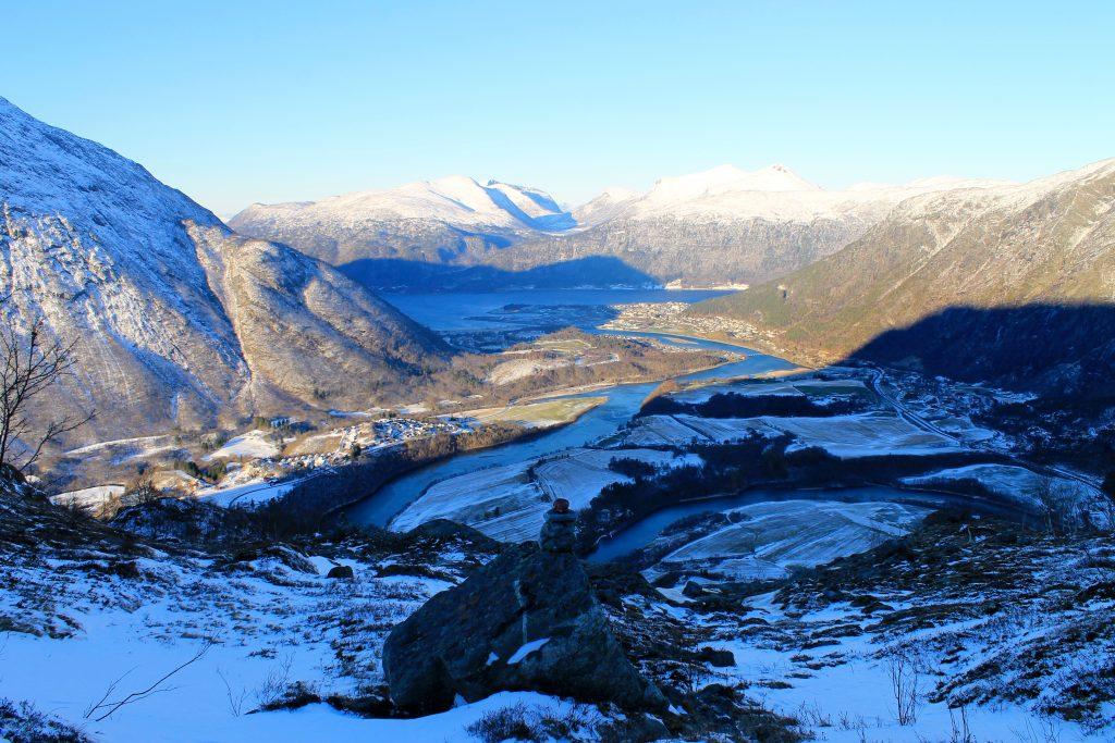 Rauma og Åndalsnes i Romsdalen.