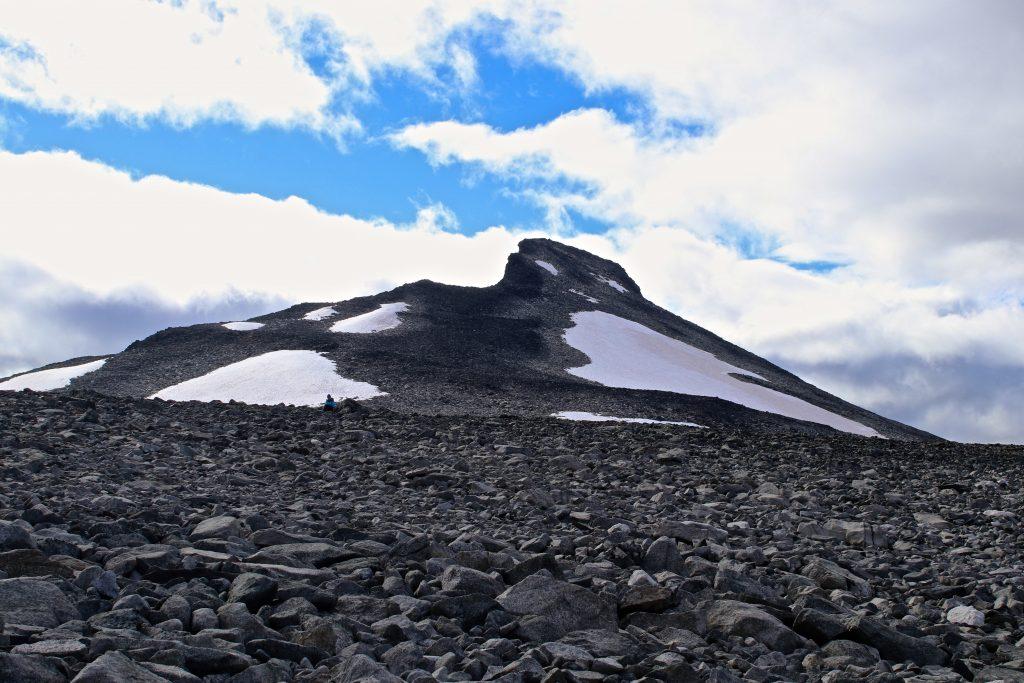 Toppen av Ryggjehøe (2.142 moh).