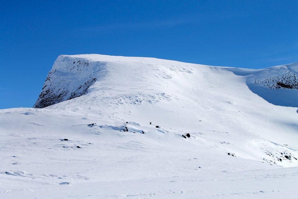 Topptur til Steindalsnosi (2.025 mot) på Sognefjellet.