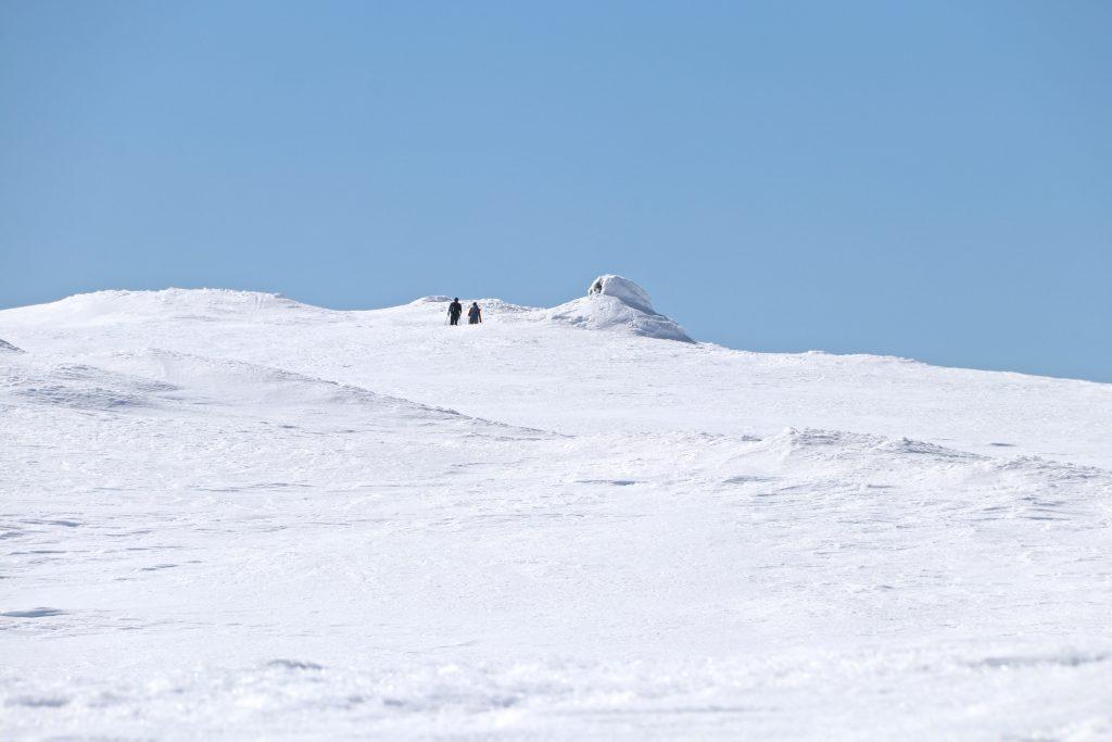 Toppvarden på Onen (1.620 moh).
