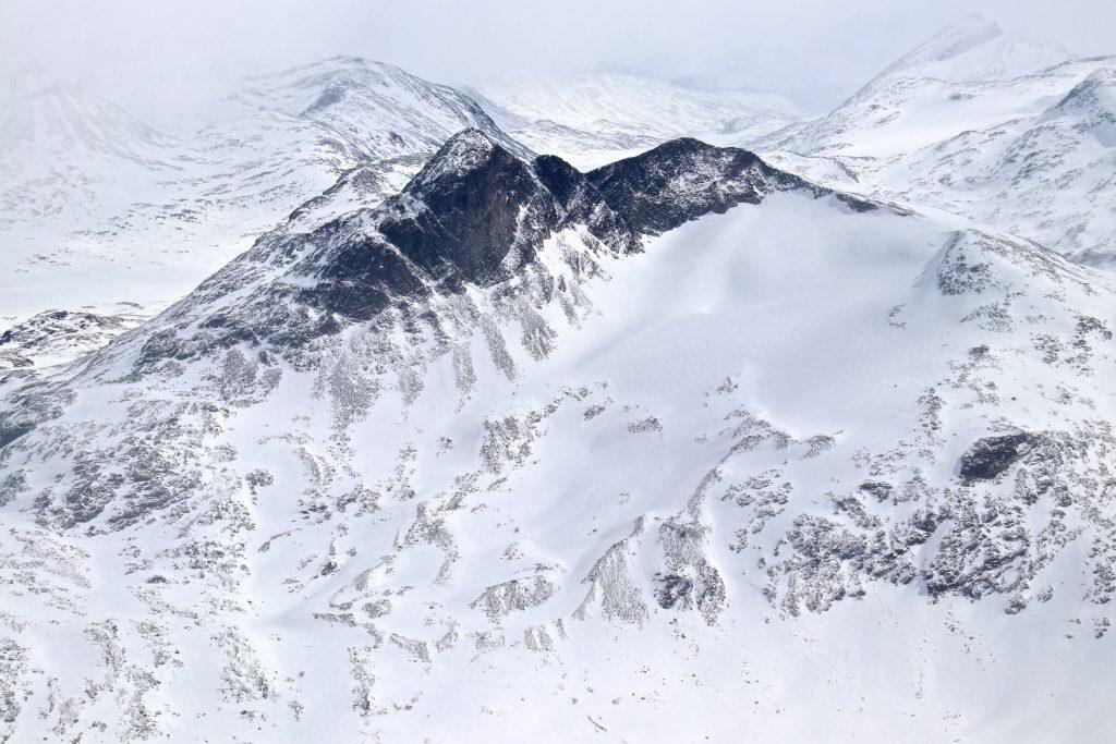Stetinden (2.020 moh) sett fra Sokse.