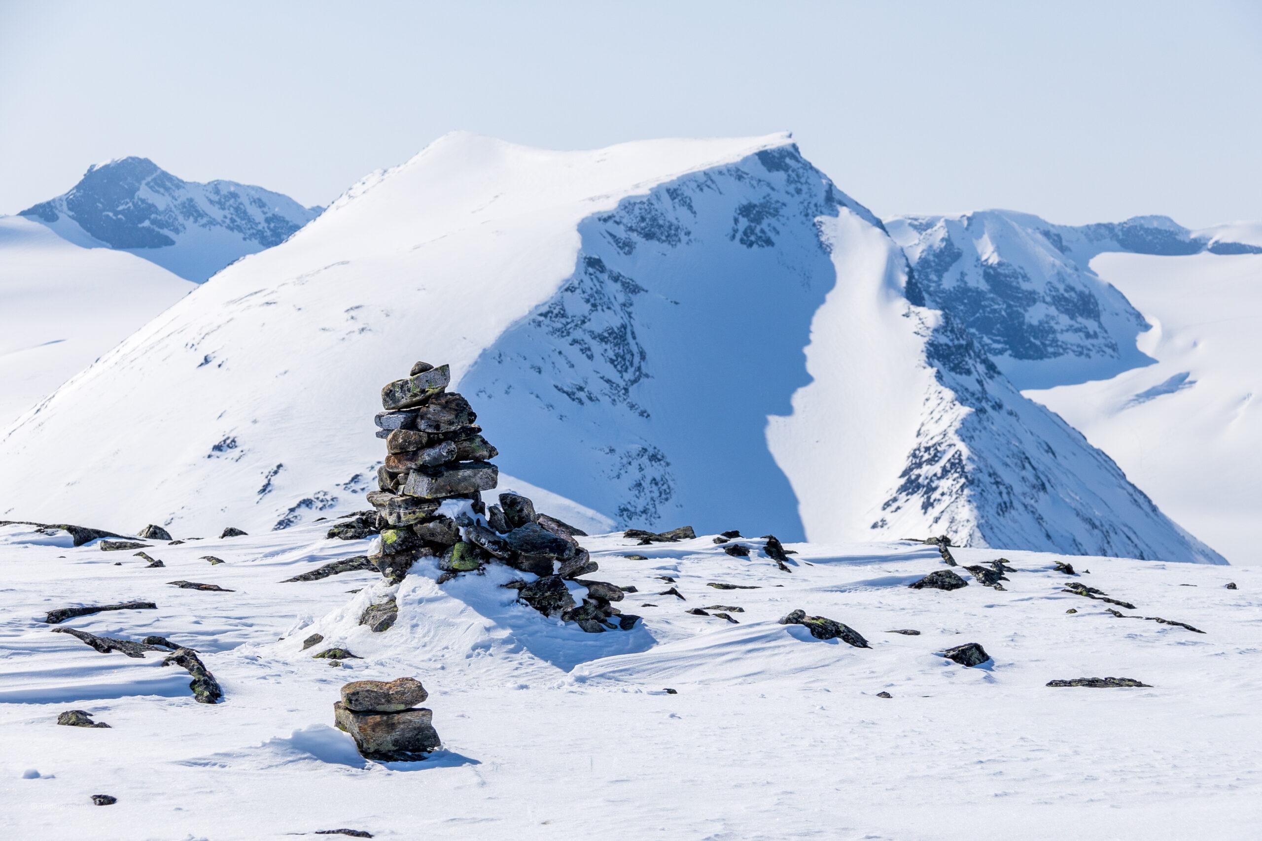Toppen av Spiterhøe med Styggehøe bak.